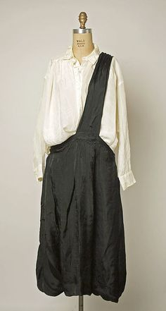 Ensemble Comme des Garçons (Japanese, founded 1969) Designer: Rei Kawakubo (Japanese, born 1942) Date: ca. 1984 Culture: Japanese Medium: rayon
