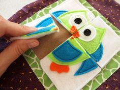 Adorable and creative quiet book ideas