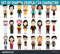 stock-vector-set-of-full-body-diverse-business-people-infographic-elements-flat-icons-design-graphic-321623819.jpg (1500×1350)