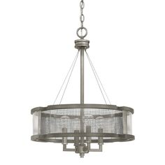 Capital Lighting Donny Osmond Carson Collection 4-light Graphite Chandelier