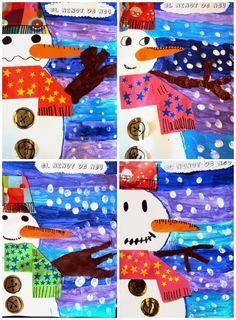 """Résultat de recherche d'images pour """"art visuel cp maison hiver"""""""