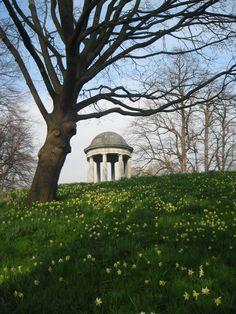 Kew Gardens. Temple of Aeolus.