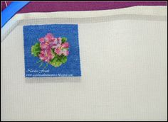 For the try of my newly arrived Pearsall's silk floss I chose to make a miniature pillow with Pansies. Pansies, Experiment, Dollhouse Miniatures, Needlework, Scale, Pillows, Cross Stitch, Dots, Weighing Scale