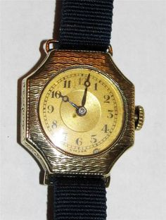 Antique Vitalis 14k Gold Women's Watch 15 jewel. This is a lovely late 1800's Swiss woman's watch with a 14k gold engraved case.