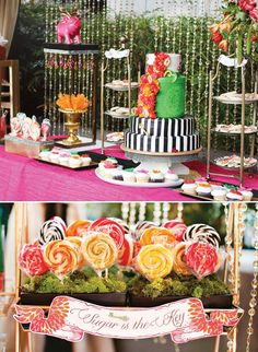 Ideas birthday table decorations for adults alice in wonderland Birthday Themes For Adults, Adult Party Themes, Adult Birthday Party, Birthday Party Themes, Birthday Ideas, Prom Themes, 15th Birthday, Birthday Nails, Birthday Crafts