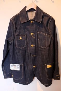 Workwear from Way Back | H.W. Carter & Sons | A Continuous Lean. reissues...