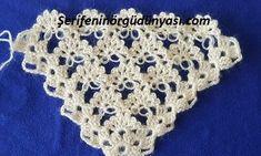 bahar çiçekleri üçgen şal yapımı (5)