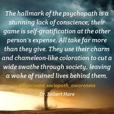 Narcissist/Psychopath