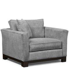 Kenton Fabric Living Room Chair:Custom Colors - Chairs & Recliners - Furniture - Macy's