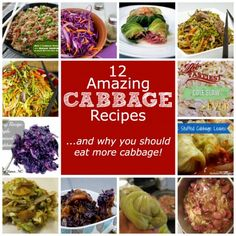 12 Amazing Cabbage Recipes... and why you should eat more cabbage!