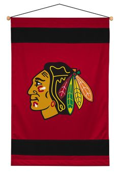 ATHLEZ - Chicago Blackhawks Sidelines Wall Hanging