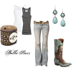Yes! Country girl outfit...