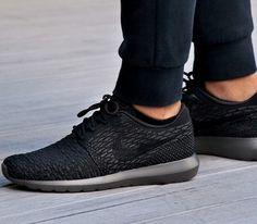 Nike Kaishi Run Black Black Anthracite