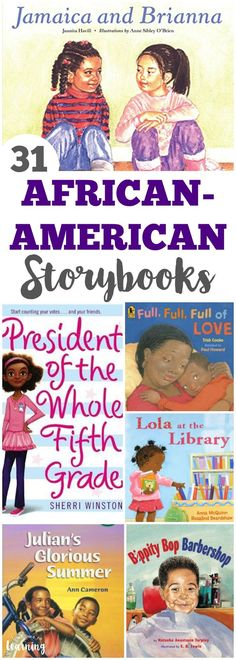 31 Gorgeous African American Story Books for Kids to Read! - Brigitte Jackson - 31 Gorgeous African American Story Books for Kids to Read! Read these wonderful African American story books for kids with your little ones! Funny Stories For Kids, Funny Books For Kids, Kids Story Books, Funny Kids, Kid Books, Kids Book Characters, Book Funny, Black Characters, African American Books