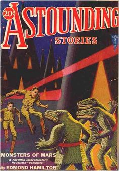 asounding stories pulp covers | ... Pulp Fiction Covers: Aviv Itzcovitz repulps Astounding Stories #16