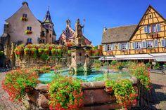 【フランス】何度でも行きたくなる絵本の世界、アルザス地方で訪れたい街6選