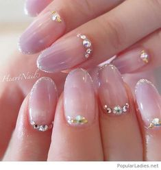 Nude wih diamonds