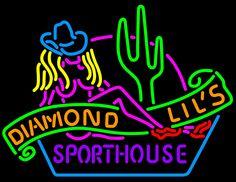 ... Diamond Lil's Sport house Las Vegas Neon Neon Sign | Other Neon Signs