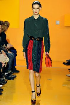 Kenzo | Fall 2012 Ready-to-Wear Collection | Vogue Runway