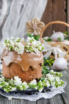 Рецепт - Шоколадный кулич