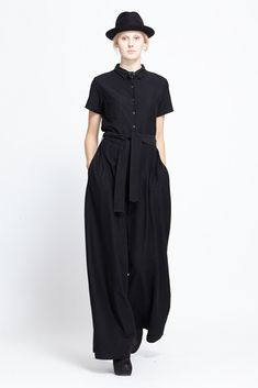 Assembly New York Coveralls (Black)