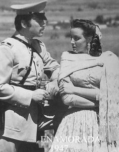 "Maria Felix and Pedro Armendariz  Movie ""Enamorada"""