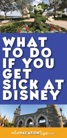 Biggest fear of mine on vacations! What to do if you get sick or hurt on your Disney World vacation Disney World Tips And Tricks, Disney Tips, Disney Love, Disney Stuff, Walt Disney World Vacations, Disney Parks, Disney Travel, Disneyland Vacation, Disney Bound