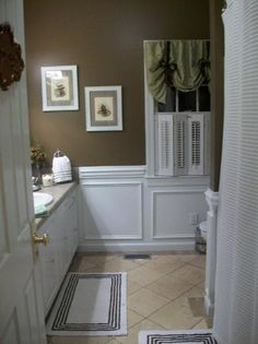 Small Budget Cosmetic Makeover Guest Bath (before & After)