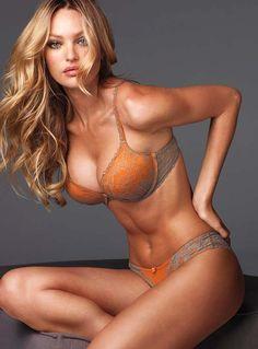 #Candice Swanepoel for Victoria's Secret Lingerie