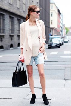 The Ultimate Maternity Style Guide By Four Expecting Fashion Bloggers via @WhoWhatWear