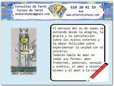 Los Menores del Tarot: AS DE COPAS