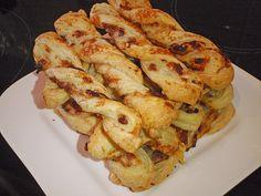 Blätterteig-Schinken-Käse-Stangen 18