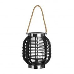 Altar Wooden/Glass/Rope Lantern Castleton Home Large Lanterns, Wooden Lanterns, Lanterns Decor, Black Candle Holders, Candle Holder Decor, Glass Candelabra, Glass Candlesticks, Mirror Candle Plate, Traditional Lanterns