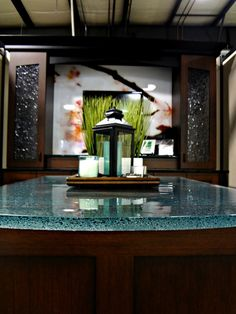Glass Countertops for Kitchens, Bathroom Vanities and Bar Tops - Innovate Building Solutions