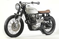1976 Honda CB450 vintage bike new build
