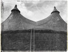 Circus Tent - Black and white Limited Edition Fine Art Print. Tenda Grande, Canvas Tent, Night Circus, Gray Matters, Big Top, Vintage Circus, Historical Pictures, Film Photography, Old Photos