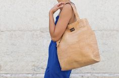 Cork tote bag for everyday life