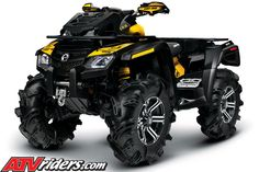 Save a horse, ride a Can-Am ATV