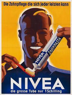 Nivea toothpaste ~ Joseph Binder