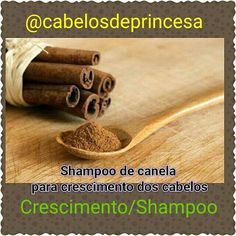 @Regrann from @cabelosdeprincesa - Os benefícios da canela: _ Rica em cálcio manganês e ferro. Tem ação anti bacteriana antioxidante anti inflamatória. Ajuda no fortalecimentoativa a circulação sanguínea e no crescimento. INGREDIENTES: _ Shampoo de preferencia neutro; _ A cada 100ml de shampoo um colher de sopa de canela em pó ou 1 pedaço de canela em pau a cada 100ml. MODO DE PREPARO: _ Em um recipiente coloque o shampoo acrescente a canela mexa bem após coloque no frasco do shampoo…