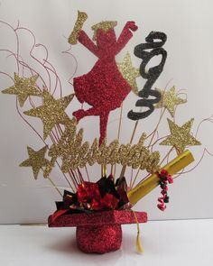 Graduation Table Centerpieces | Graduation Centerpieces