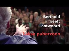 In deze video geeft Berthold Gunster antwoord op de vraag: hoe ga ik om met de laksheid van mijn puberzoon? Hij wil geen huiswerk maken of helpen met klusjes in het huishouden. Kun je dat omdenken?