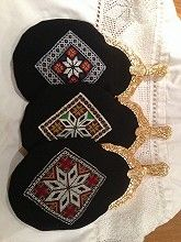 Bunadsvesker Celtic Cross Stitch, Norway, Textiles, Jewellery, Embroidery, Band, Dolls, Hardanger, Dime Bags