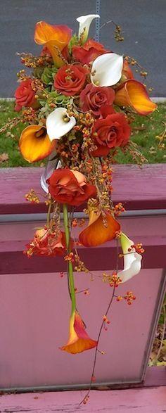cascading red rose bouquet - Recherche Google