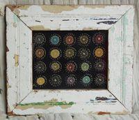 penny rug by The Tweed Weasel