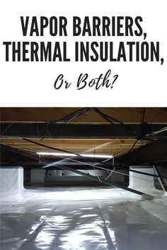 Is there any tangible benefit to stacking insulation with a vapor barrier, or should you opt for one or the other? Rigid Insulation, Insulation Materials, Thermal Insulation, Crawl Space Repair, Leaking Basement, Mineral Wool, Poultry Farming, Foundation Repair, Local Contractors
