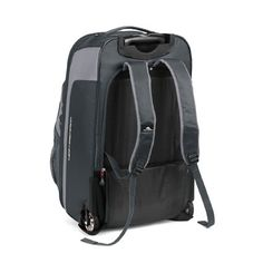 High Sierra AT606 Wheeled Travel Backpack - inline wheels, removeable day pack, lightweight