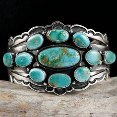 Navajo Aarron Toadlena, Cluster cuff