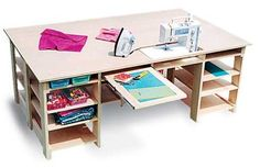 sewing table plans $15