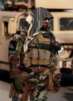 Green Beret Operator